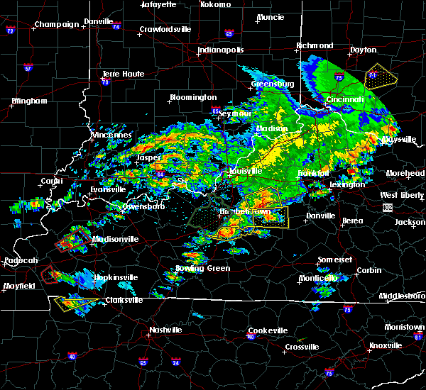 Radar Image for Severe Thunderstorms near Willisburg, KY at 5/10/2016 5:13 PM EDT