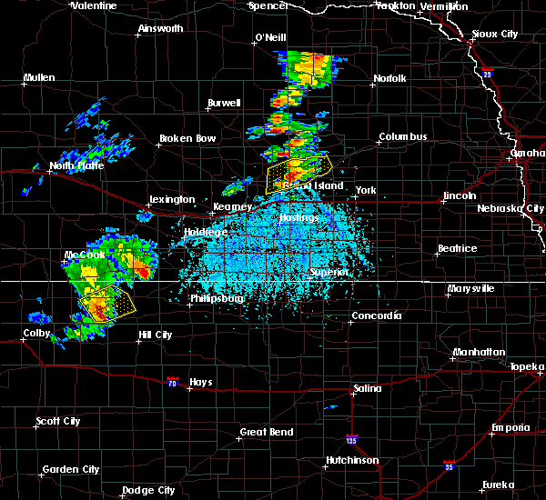 Radar Image for Severe Thunderstorms near Grand Island, NE at 5/10/2016 5:35 PM CDT