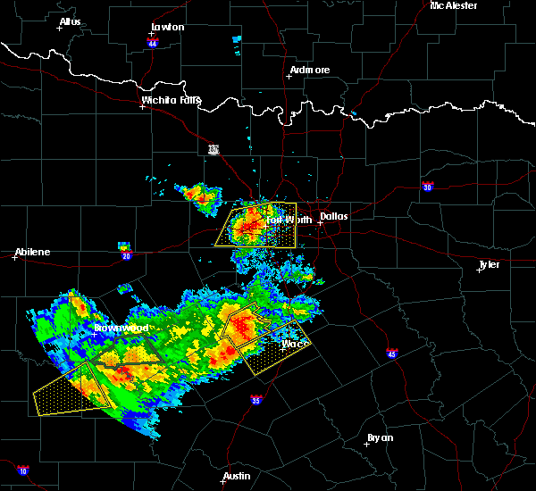 Radar Image for Severe Thunderstorms near Westworth Village, TX at 5/10/2016 7:32 PM CDT