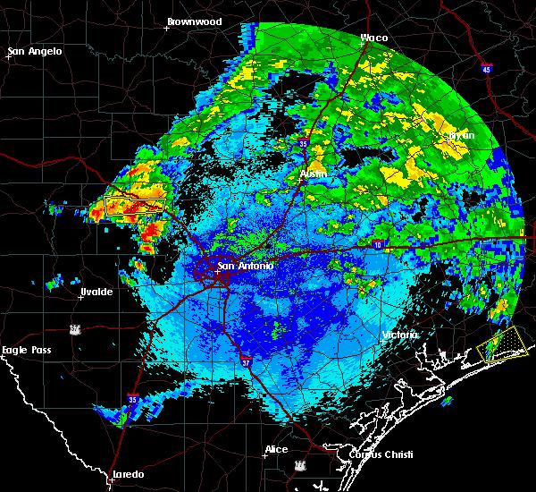 Radar Image for Severe Thunderstorms near Ingram, TX at 5/11/2016 1:56 AM CDT