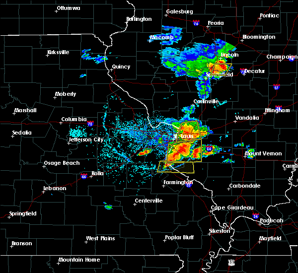 Radar Image for Severe Thunderstorms near St. Jacob, IL at 5/11/2016 2:21 PM CDT