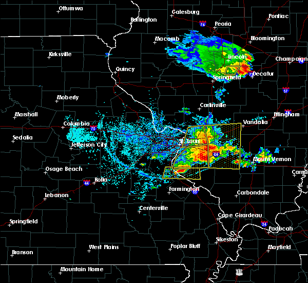 Radar Image for Severe Thunderstorms near Old Ripley, IL at 5/11/2016 2:46 PM CDT