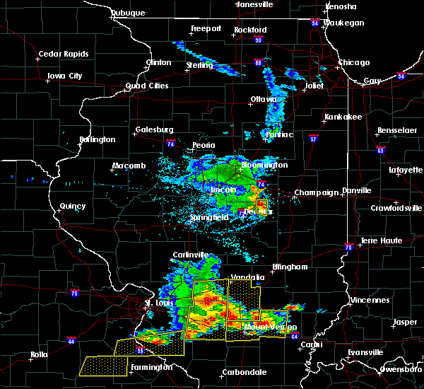 Radar Image for Severe Thunderstorms near Cisco, IL at 5/11/2016 3:17 PM CDT