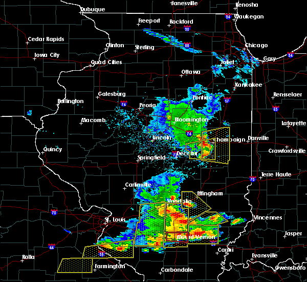 Radar Image for Severe Thunderstorms near Sidney, IL at 5/11/2016 3:49 PM CDT