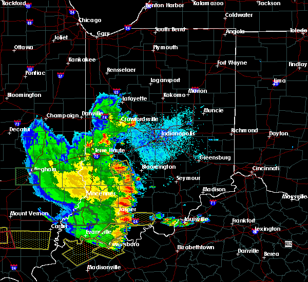 Radar Image for Severe Thunderstorms near Owensburg, IN at 5/11/2016 7:46 PM EDT