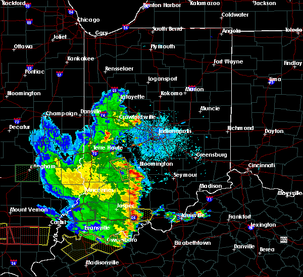 Radar Image for Severe Thunderstorms near Owensburg, IN at 5/11/2016 7:58 PM EDT