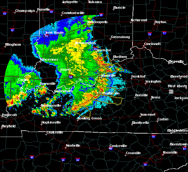 Radar Image for Severe Thunderstorms near Buffalo, KY at 5/11/2016 9:22 PM EDT
