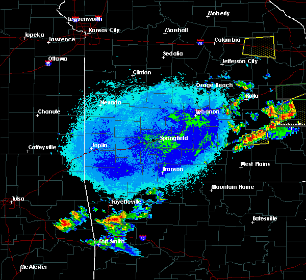 Radar Image for Severe Thunderstorms near Summersville, MO at 5/11/2016 10:59 PM CDT