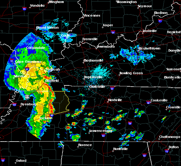 Radar Image for Severe Thunderstorms near Paris, TN at 5/12/2016 12:06 PM CDT