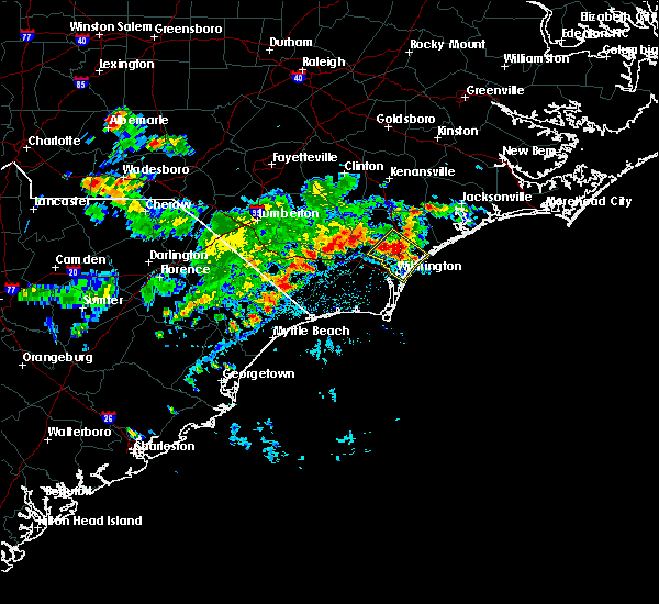 Radar Image for Severe Thunderstorms near Wrightsboro, NC at 5/12/2016 4:58 PM EDT