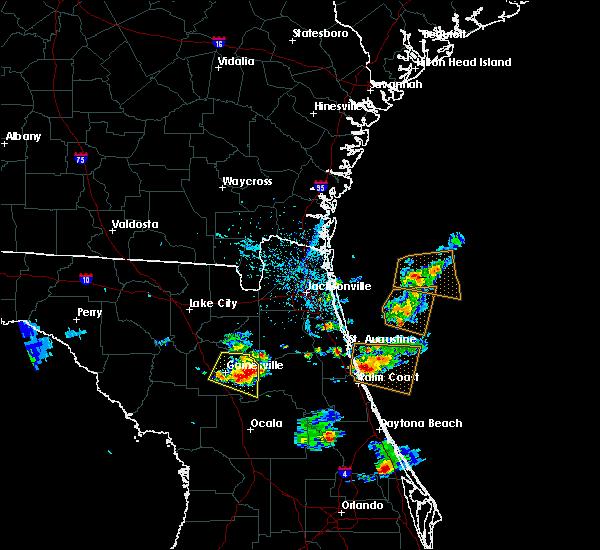 Radar Image for Severe Thunderstorms near Palatka, FL at 5/13/2016 6:00 PM EDT