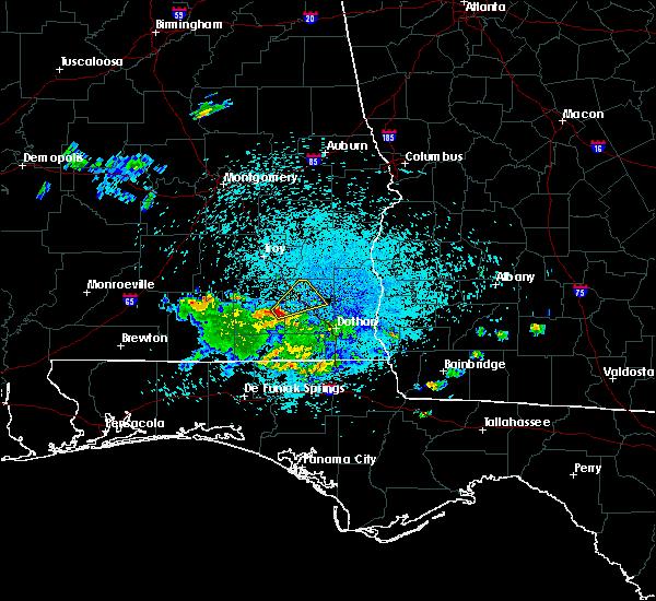 Radar Image for Severe Thunderstorms near Enterprise, AL at 5/18/2016 9:20 PM CDT