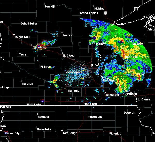 Radar Image for Severe Thunderstorms near Long Prairie, MN at 5/25/2016 3:55 PM CDT