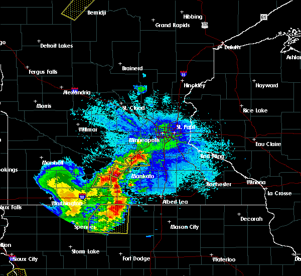 Radar Image for Severe Thunderstorms near Nicollet, MN at 5/26/2016 1:41 AM CDT