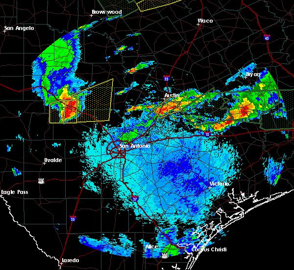 Radar Image for Severe Thunderstorms near Ingram, TX at 5/26/2016 10:13 PM CDT
