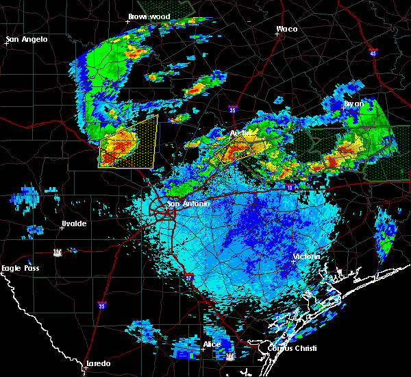 Radar Image for Severe Thunderstorms near Stonewall, TX at 5/26/2016 10:39 PM CDT