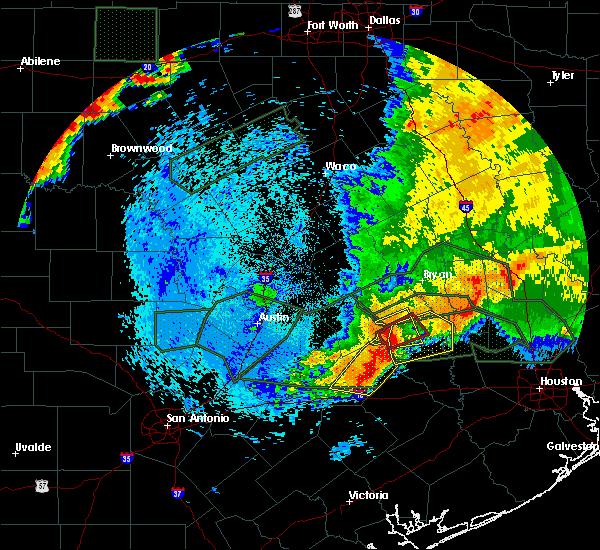 Radar Image for Severe Thunderstorms near Hempstead, TX at 5/27/2016 2:58 AM CDT