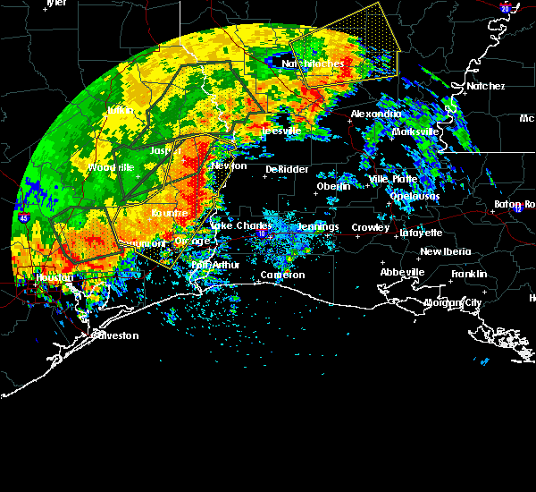 Radar Image for Severe Thunderstorms near Vidor, TX at 5/27/2016 4:09 PM CDT