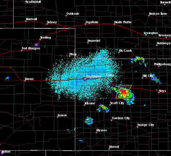 Interactive hail maps hail map for grainfield ks - Garden city kansas weather radar ...