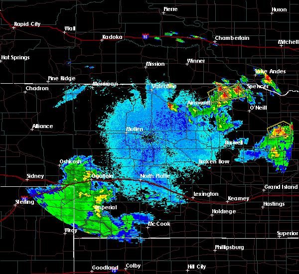 Radar Image for Severe Thunderstorms near Butte, NE at 5/30/2016 12:01 AM CDT