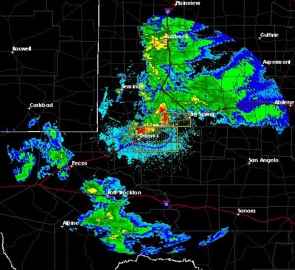 Radar Image for Severe Thunderstorms near Stanton, TX at 5/30/2016 11:33 PM CDT
