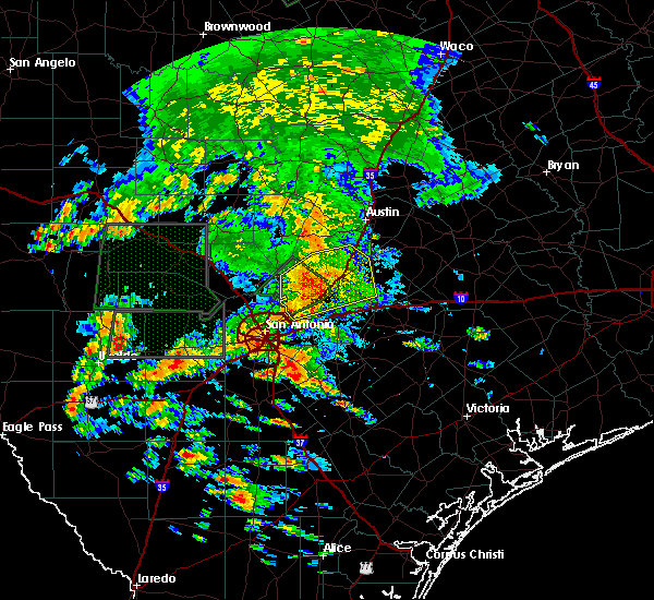 Radar Image for Severe Thunderstorms near Wimberley, TX at 5/31/2016 3:21 PM CDT