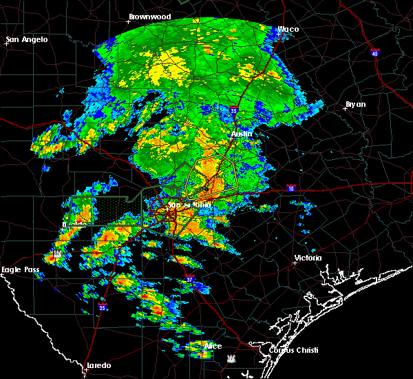 Radar Image for Severe Thunderstorms near Wimberley, TX at 5/31/2016 3:38 PM CDT