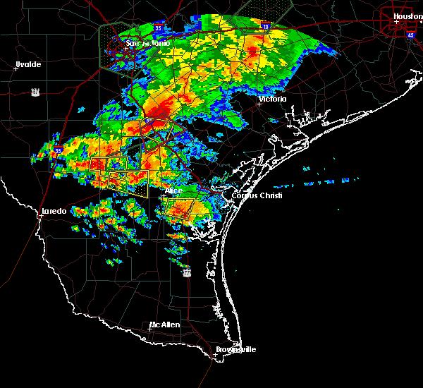 Radar Image for Severe Thunderstorms near Freer, TX at 5/31/2016 5:53 PM CDT