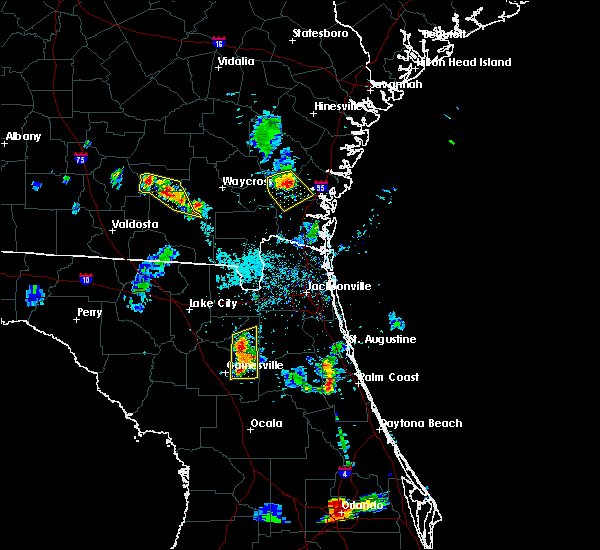 Radar Image for Severe Thunderstorms near Seville, FL at 5/31/2016 7:32 PM EDT