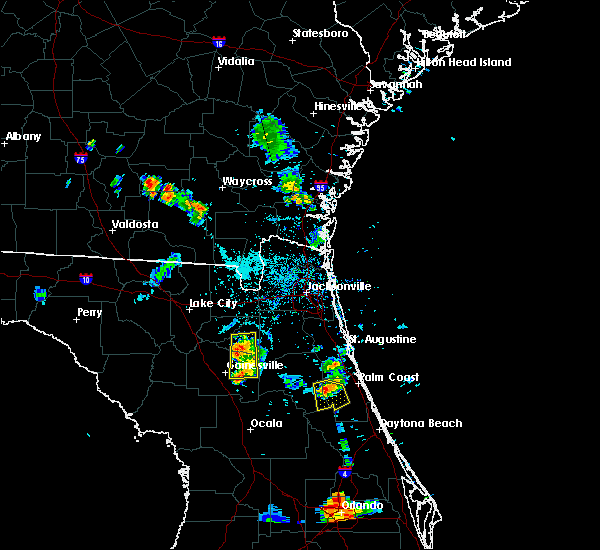 Radar Image for Severe Thunderstorms near Seville, FL at 5/31/2016 7:55 PM EDT