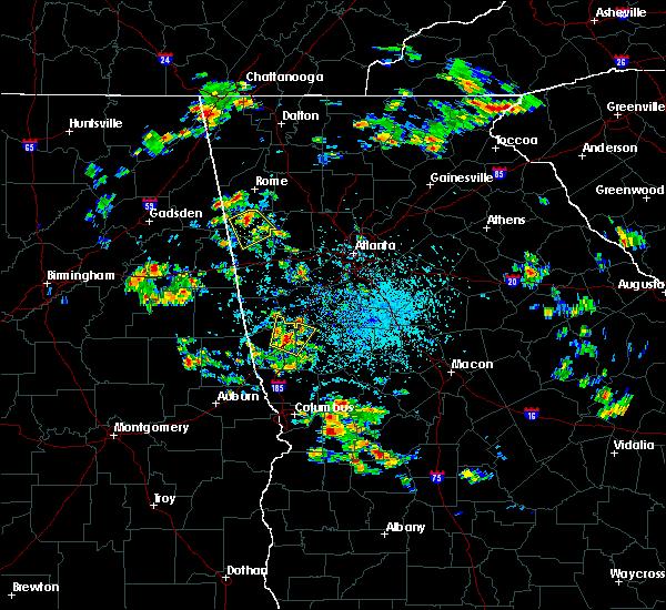 Radar Image for Severe Thunderstorms near Cedartown, GA at 6/1/2016 2:51 PM EDT