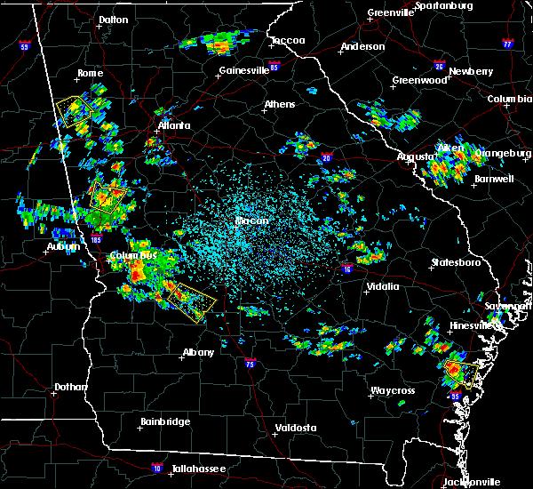 Radar Image for Severe Thunderstorms near De Soto, GA at 6/1/2016 3:03 PM EDT
