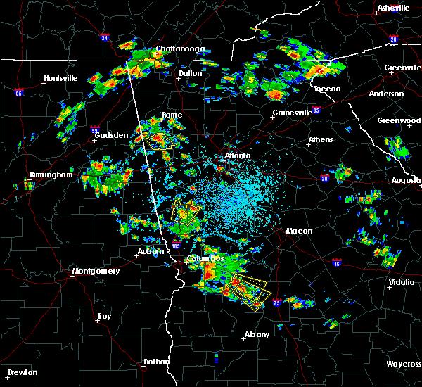 Radar Image for Severe Thunderstorms near Cedartown, GA at 6/1/2016 3:06 PM EDT