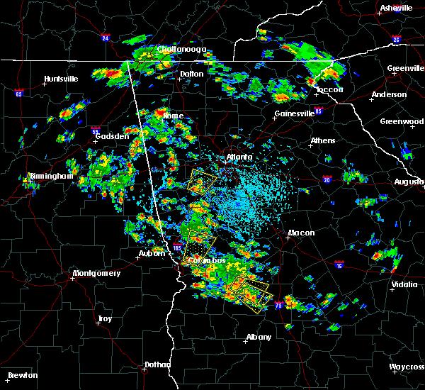 Radar Image for Severe Thunderstorms near Shiloh, GA at 6/1/2016 3:40 PM EDT