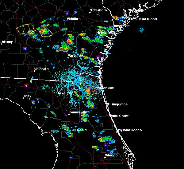 Radar Image for Severe Thunderstorms near Jacksonville, FL at 6/1/2016 4:50 PM EDT