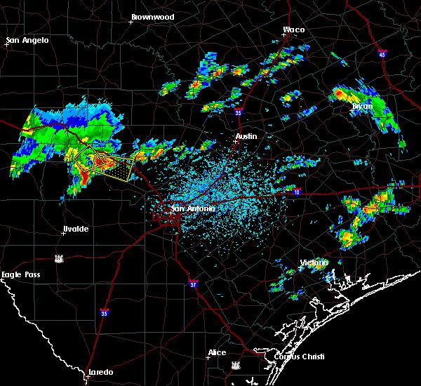 Radar Image for Severe Thunderstorms near Ingram, TX at 6/1/2016 4:44 PM CDT