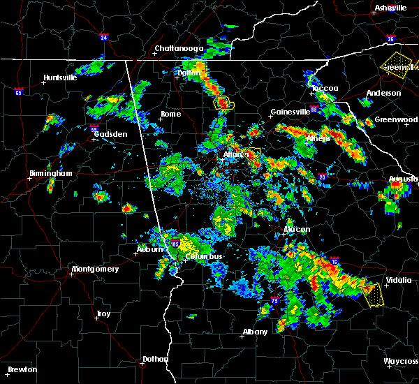 Radar Image for Severe Thunderstorms near Nelson, GA at 6/1/2016 6:08 PM EDT