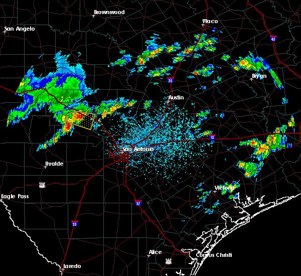 Radar Image for Severe Thunderstorms near Ingram, TX at 6/1/2016 5:08 PM CDT