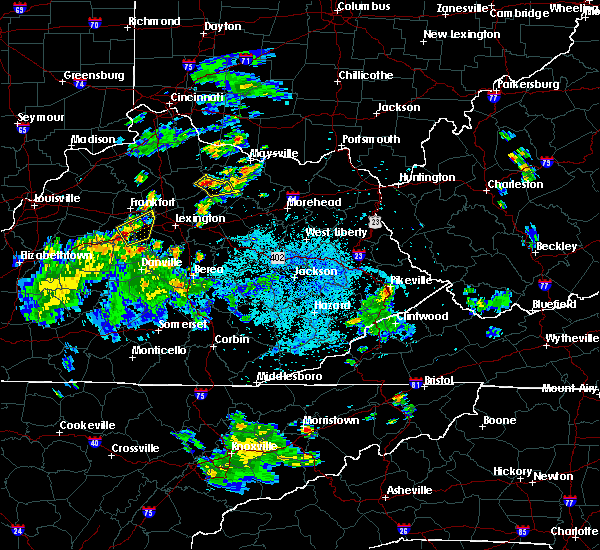Radar Image for Severe Thunderstorms near Carlisle, KY at 6/1/2016 9:09 PM EDT
