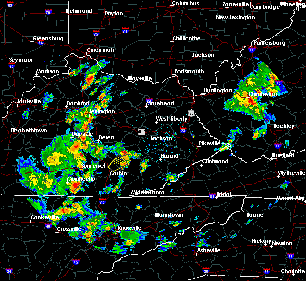 Radar Image for Severe Thunderstorms near Lancaster, KY at 6/4/2016 2:26 PM EDT