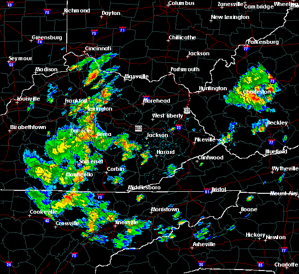 Radar Image for Severe Thunderstorms near Lancaster, KY at 6/4/2016 2:40 PM EDT
