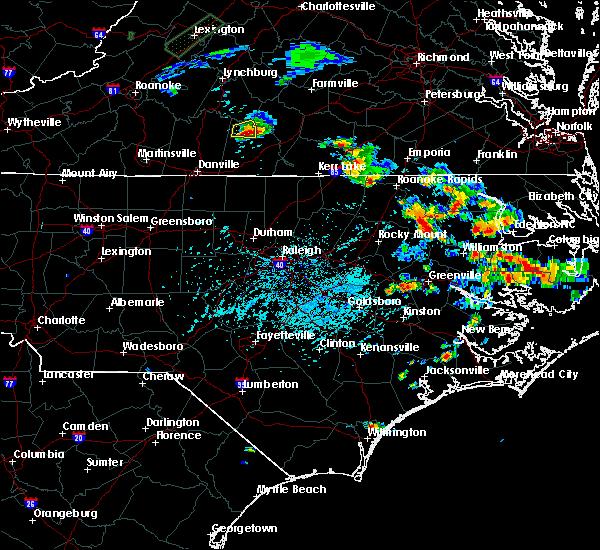 Radar Image for Severe Thunderstorms near Nathalie, VA at 6/4/2016 4:43 PM EDT