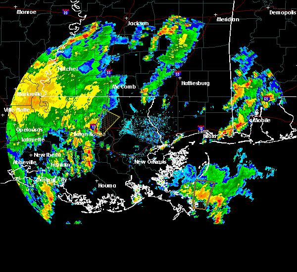 Radar Image for Severe Thunderstorms near Independence, LA at 6/4/2016 3:49 PM CDT