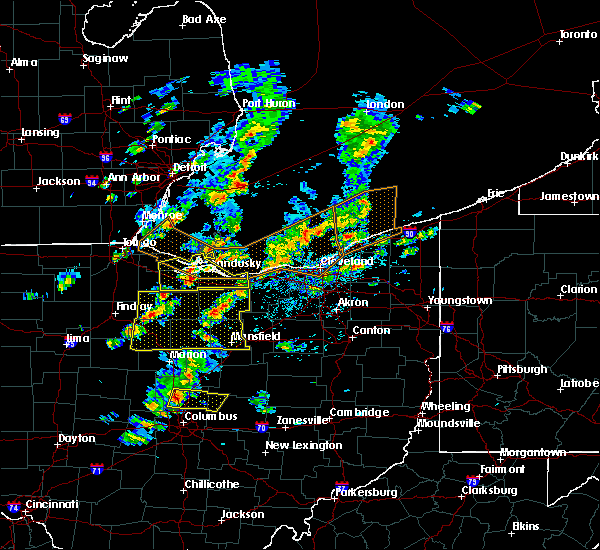 Radar Image for Severe Thunderstorms near Lucas, OH at 6/5/2016 2:24 PM EDT