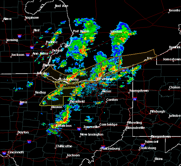 Radar Image for Severe Thunderstorms near Attica, OH at 6/5/2016 2:51 PM EDT