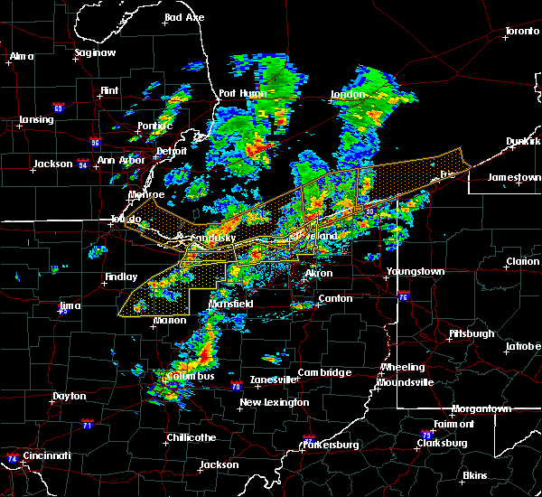 Radar Image for Severe Thunderstorms near Oberlin, OH at 6/5/2016 2:57 PM EDT