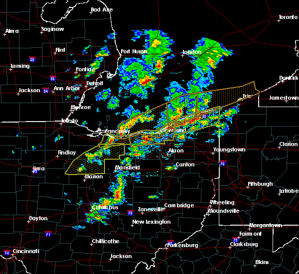 Radar Image for Severe Thunderstorms near Roaming Shores, OH at 6/5/2016 3:03 PM EDT