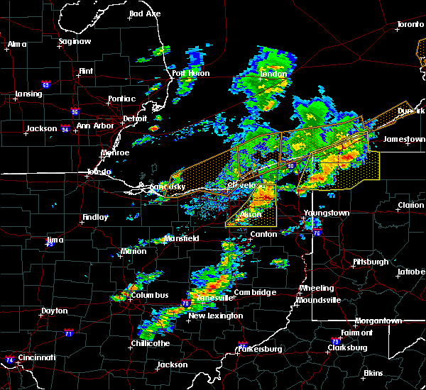 Radar Image for Severe Thunderstorms near Ravenna, OH at 6/5/2016 3:58 PM EDT