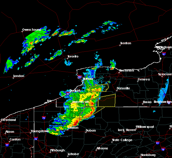 Radar Image for Severe Thunderstorms near Belfast, NY at 6/5/2016 5:50 PM EDT