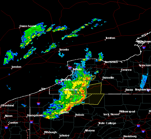 Radar Image for Severe Thunderstorms near Perry, NY at 6/5/2016 5:59 PM EDT